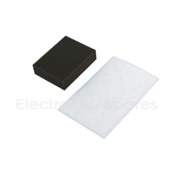 Набор фильтров EF95 контейнера + микро (выходной) для пылесоса Electrolux 9001663419